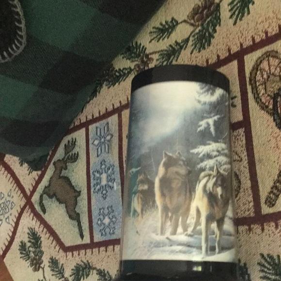 Vintage Wolves Thermal Mugs Kevin Daniels PAIR